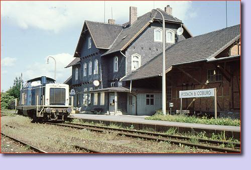 Eisenbahnen Oberfranken   Bundesbahn Historische Strecken